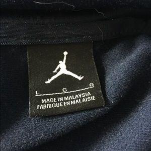 9c5046af3363 Nike Jackets   Coats - Nike Air Jordan Full ZIP Navy White Jacket size L